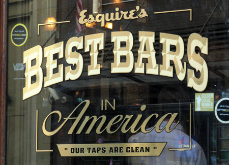 Esquire Magazine Best Bars in America NYC Old Town Bar E18th